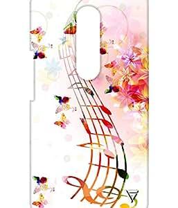Vogueshell Musical Patterns Printed Symmetry PRO Series Hard Back Case for Motorola Moto G4 Plus