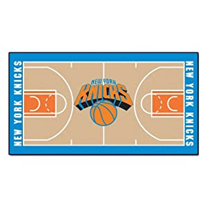 FANMATS NBA New York Knicks Nylon Face NBA Court Runner-Large by Fanmats