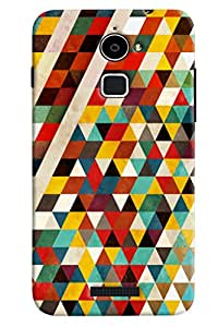 Clarks Triangle Pattern Hard Plastic Printed Back Cover/Case For Coolpad Note 3 Lite