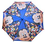 Disney Mickey Mouse Kid's Blue Umbrella - Toddler