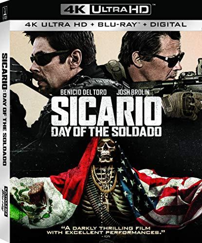 4K Blu-ray : Sicario: Day of the Soldado