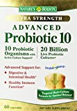 Natures Bounty Ultra Probiotic 10, 60 Count