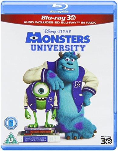 Monsters University (3d+2d) [Blu-ray] [Import]