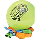 Official Doctor Who Party Ware - Tardis Balloons 10 Pack