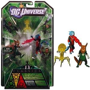 DC Universe Classics Green Lantern B'DG Sinestro Corps Despotellis & Red Lantern Dex-Starr
