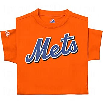 Majestic Youth Mlb Replica Cool Base Jerseys New York Mets by Majestic Athletic