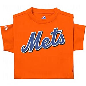 Majestic Athletic Majestic Youth Mlb Replica Cool Base Jerseys New York Mets... by Majestic Athletic