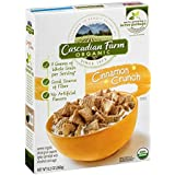 Cascadian Farm Organic Cinnamon Crunch Cereal 9.2 Oz (Pack Of 10)