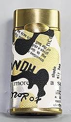 Designer Butane Jet Flame Cigarette Lighter With leather Finish LIT-436