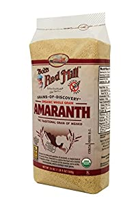 Bob's Red Mill Organic, Amaranth Grain, 24-Ounce Bags (Pack of 4)