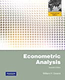 Econometric Analysis: International Edition: Global Edition