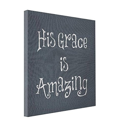 VetiVer Printing Photos On Canvas God's Amazing Grace Quote Canvas Print (Amazing Grace Picture compare prices)