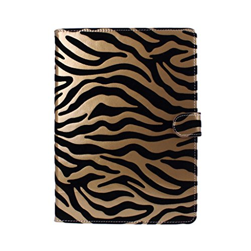 Wkae Apple iPad Air 2 /iPad 6 Smart cover(スマートカバー) スマートバックカバー 新しい Apple iPad Air 2 /iPad 6 対応なハードケース アップル アイパッド   スタイリッシュ ハードケース 防水防塵耐衝撃ケース PU レザーケース  12種類の絵柄が選べる並行輸入品(ゴールド)