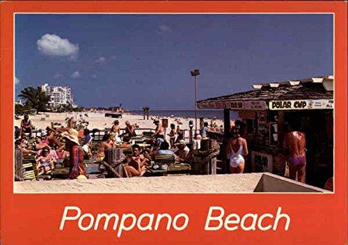 Pompano Beach, Florida Vintage Postcard