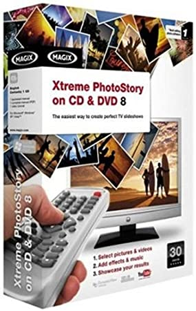 Magix Xtreme PhotoStory on CD & DVD 8 (PC DVD) [Import anglais]