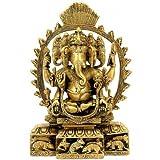 "Redbag Ganesha Vishwa Rupa - Brass Sculpture 93622 ( 9"" X 6.25"" X 2.25"" )"