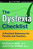 img - for The Dyslexia Checklist: A Practical Reference for Parents and Teachers book / textbook / text book