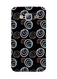 Gobzu Printed Hard Case Back Cover for Samsung J3 2016 - Design_57