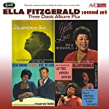 Ella Fitzgerald Three Classic Albums Plus (Like Someone In Love / Hello Love / Ella Swings Brightly With Nelson)