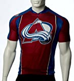 NHL Colorado Avalanche Men's Cycling Jersey, Red, Small