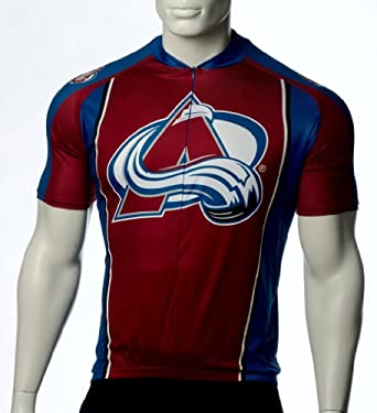 NHL Colorado Avalanche Mens Cycling Jersey by VOmax