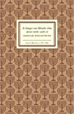 Jiddische Sprichwörter. Je länger ein Blinder lebt, desto mehr sieht er. Insel-Bücherei,  Band 828 (3458088288) by N