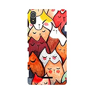 Digi Fashion Designer Back Cover with direct 3D sublimation printing for Sony Xperia T3