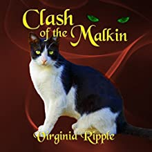 Clash of the Malkin: War of the Malkin Novella Series, Book 3 Audiobook by Virginia Ripple Narrated by Angel Clark