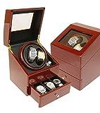 ベルソス ワインディングマシーン ワインレッド×ブラック 2本巻き 収納BOX付き VS-WW002