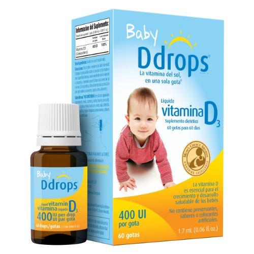 Ddrops Company Baby Ddrops® ESP 400 IU 60 drops