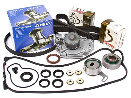 Evergreen TBK187VCA 90-97 Honda Accord F22A F22B Timing Belt Kit Valve Cover Gasket AISIN Water Pump (1993 Honda Accord Water Pump compare prices)