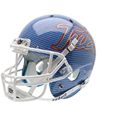 TULSA GOLDEN HURRICANE Schutt AiR XP Full-Size REPLICA Football Helmet (CARBON FIBER) by ON-FIELD