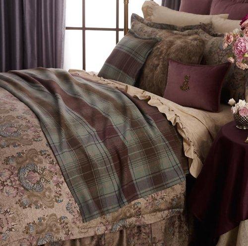 Lauren Ralph Lauren Margeaux Plaid Bed Blanket - King front-1076241