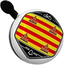 Bicycle Bell Ibiza Flag region Spain by NEONBLOND