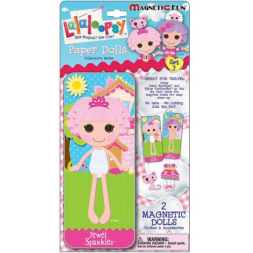 Lalaloopsy Magnetic Fun Paper Dolls Set 3