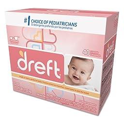 Dreft Ultra Powdered Laundry Detergent, Original Scent, 53 oz Box - four 53-oz boxes.