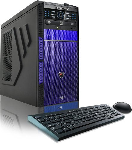 CybertronPC Hellion GM1213B Desktop (Black/Blue)