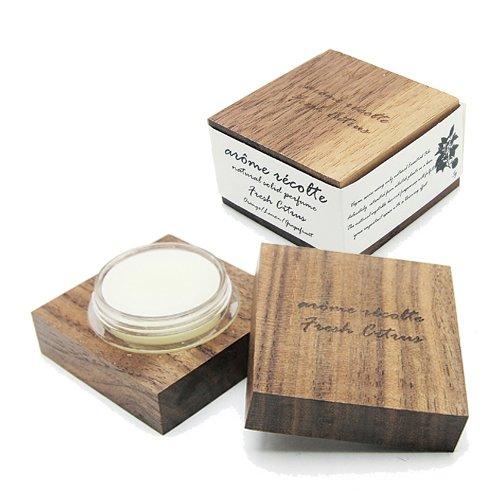 練香水 アロマレコルト ナチュラル ソリッドパフューム 5g フレッシュシトラス