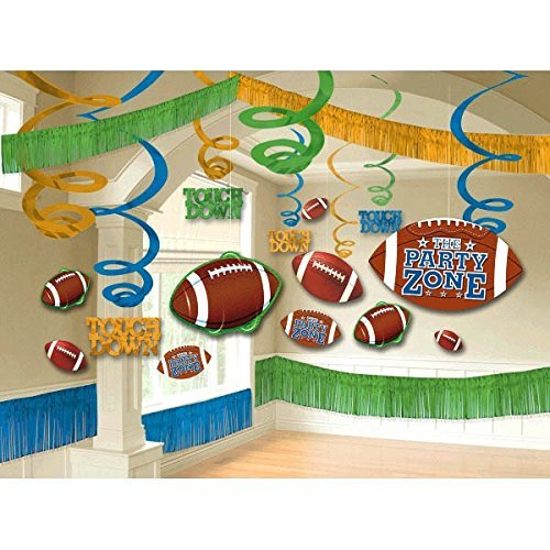 Football Giant Room Decorating Kit – 22 Pieces Football Giant Room Decorating Kit – 22 Pieces by Amscan günstig online kaufen