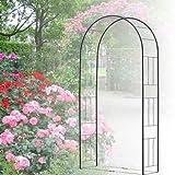 バラ アーチ スチール製ガーデンアーチ07 組立式