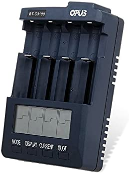 Opus BT C3100 LCD Battery Charger