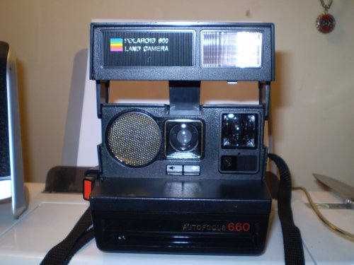 best film cameras polaroid autofocus 660 land camera. Black Bedroom Furniture Sets. Home Design Ideas