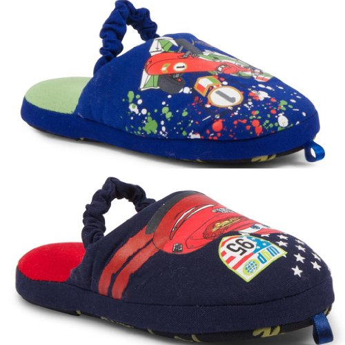 New Kids Boys Official Disney Pixar Cars Comfy Cosy Slippers