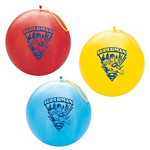 Superman Punch Ball / 2 punch balls per order