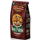 Cafe Don Pablo Classic Italian Espresso Gourmet Coffee Medium-Dark Roast Whole Bean