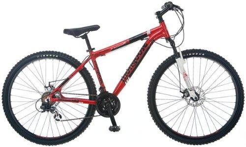 Mongoose Men's Impasse HD Bicycle (Red)