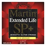 Martin SP+ 80/20 Bronze Extended Life Acoustic Guitar Strings - 12-54
