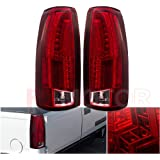 GMC Pickup 1500 2500 3500 Suburban LED Tail Light Rear Lamps Replacement
