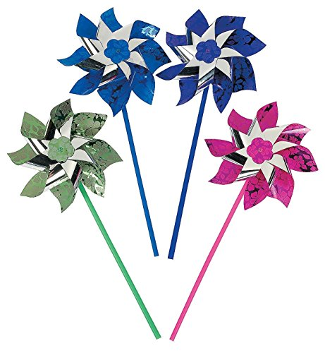 PARADISE PARTY PINWHEELS (1 DOZEN) - BULK Children, Kids, Game
