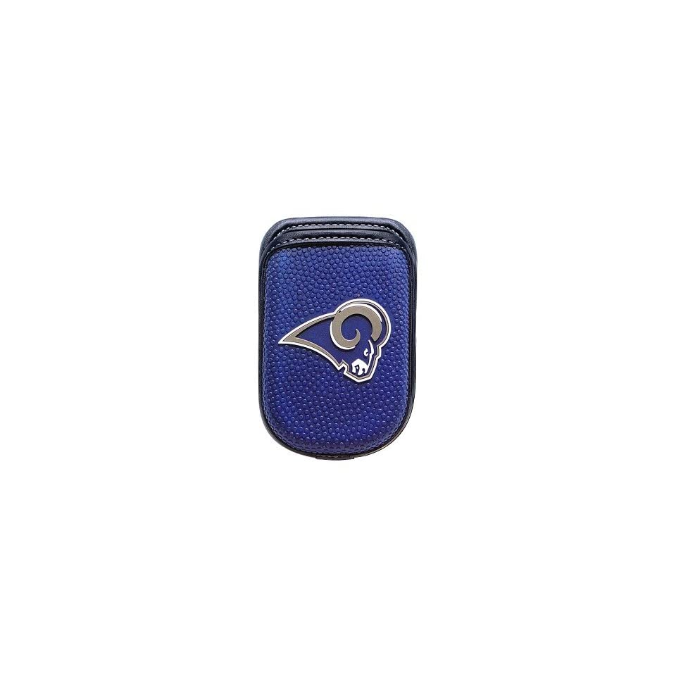 St. Louis Rams NFL Universal Cell Phone Case Pouch for Most Flip and Bar  Style Phones (fits Motorola Razr V3 too) cdcec540b